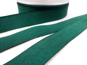 B437 Grosgrain Ribbon 18 mm dark green