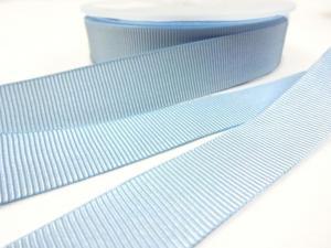 B437 Ripsband 18 mm ljusblå
