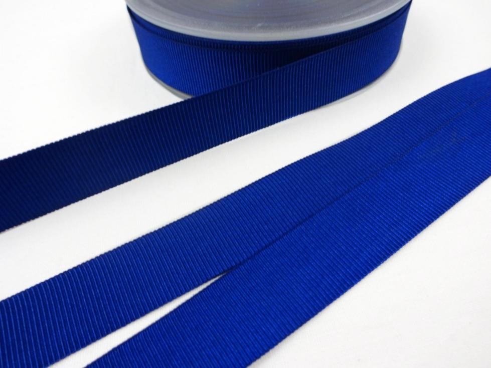 B437 Ripsband 18 mm royalblå