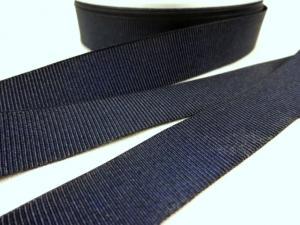 B437 Grosgrain Ribbon 18 mm dark blue