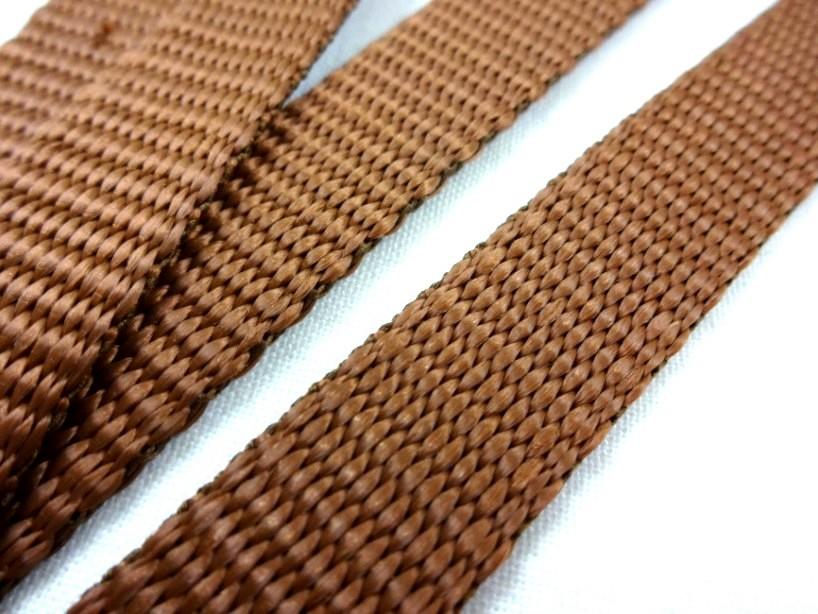 B440 Polypropylenband 15 mm brun