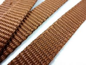 B440 Polypropylene Webbing 15 mm brown