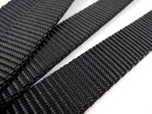 B440 Polypropylene Webbing 20 mm black