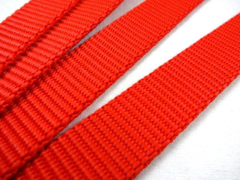 B440 Polypropylenband 20 mm röd**