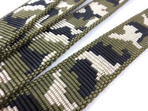 B441 Polypropylenband Kamouflage 25 mm grön