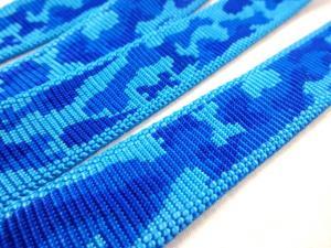 B442 Polypropylenband Kamouflage 25 mm blå