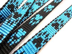 B443 Polypropylenband Tass 10 mm blå