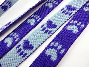 B443 Polypropylene Webbing Paws 15 mm purple