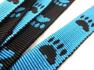 B443 Polypropylene Webbing Paws 20 mm blue
