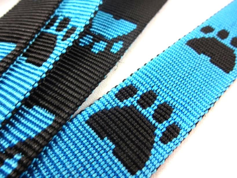 B443 Polypropylenband Tass 25 mm blå