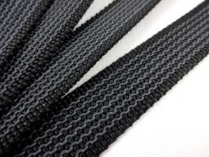 B450 Gummerat polypropylenband 20 mm svart