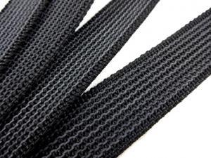 B450 Gummerat polypropylenband 25 mm svart