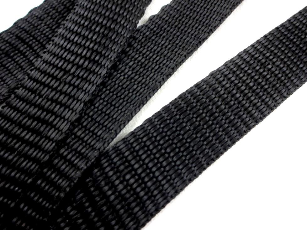 B452 Polypropylenband 20 mm svart