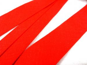 B445 Cotton Bias Binding Tape 18 mm red (5 m)
