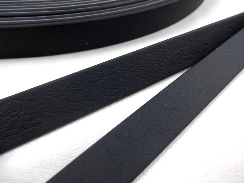 B456 Vattentåligt band 16 mm svart