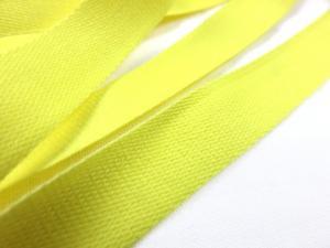B500 Bomullsband 14 mm gul (20 m)