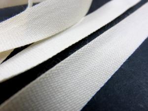 B500 Bomullsband 14 mm ljusbeige (20 m)