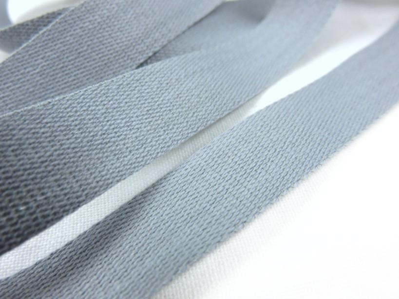 B500 Bomullsband 14 mm grå (20 m)