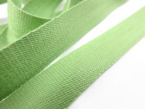 B500 Bomullsband 14 mm ljusgrön (20 m)