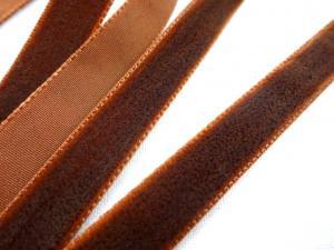 B510 Sammetsband 10 mm brun