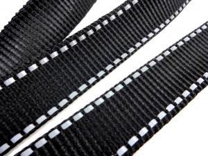 B540 Polypropylene Webbing reflective 25 mm black