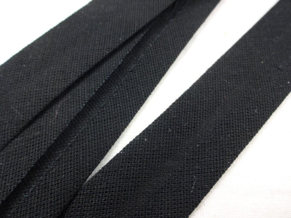 B541 Snedslå bomull 20 mm svart