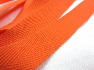 B600 Bomullsband 20 mm orange