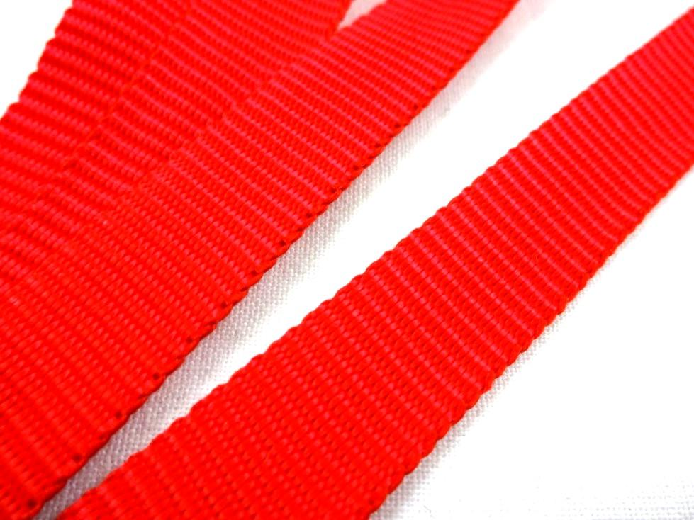 B650 Polypropylenband 15 mm röd