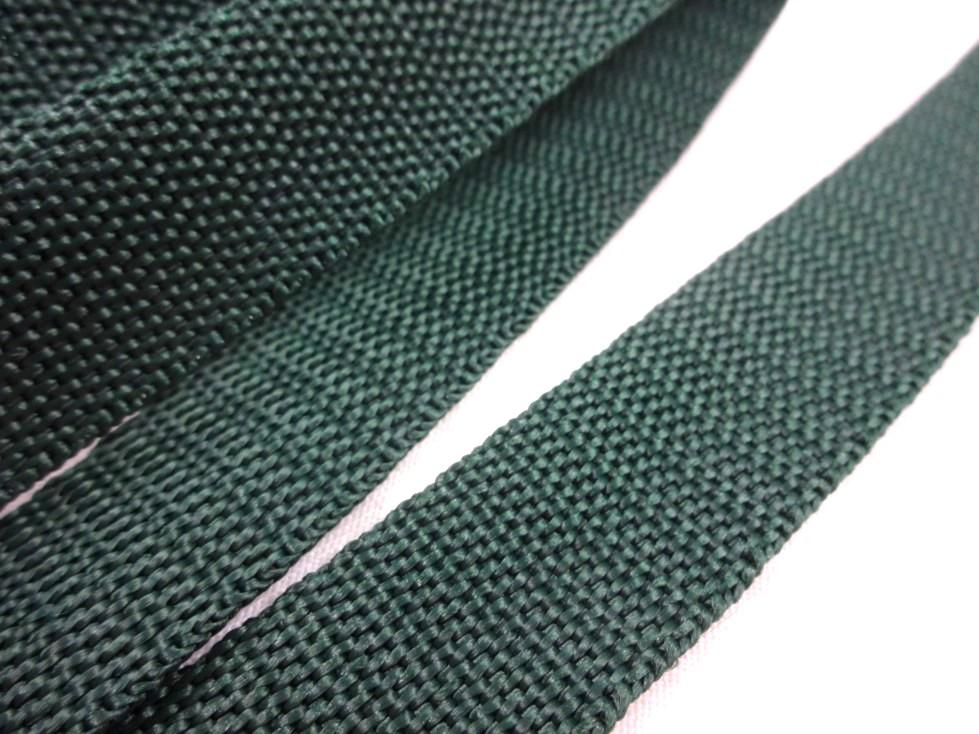 B650 Polypropylenband 20 mm mörkgrön