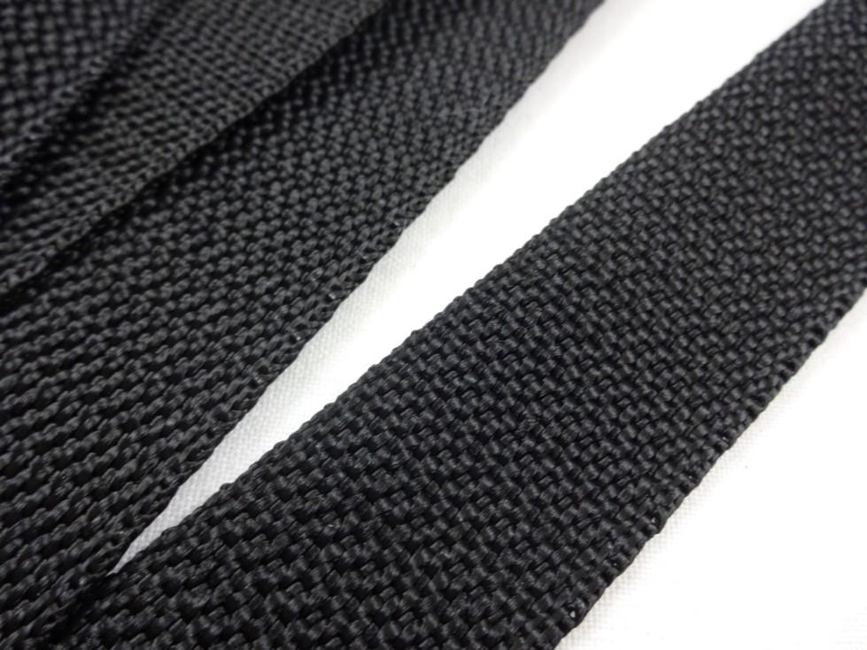 B650 Polypropylenband 25 mm svart