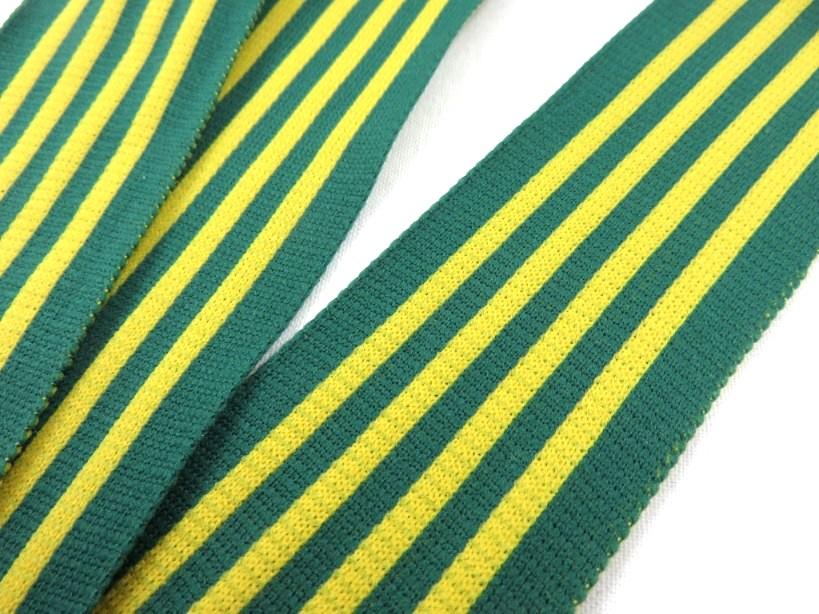 B732 Revär 42 mm grön/gul