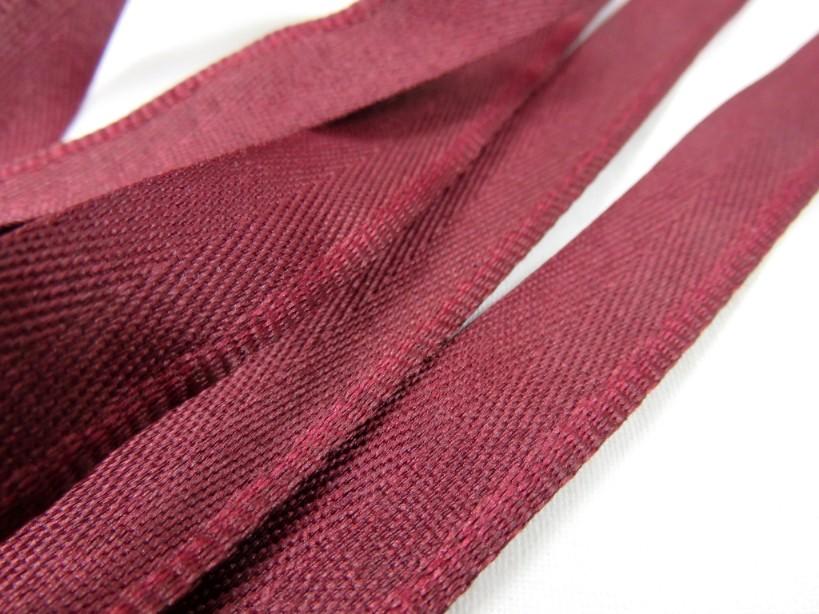 B900 Klackband 15 mm vinröd