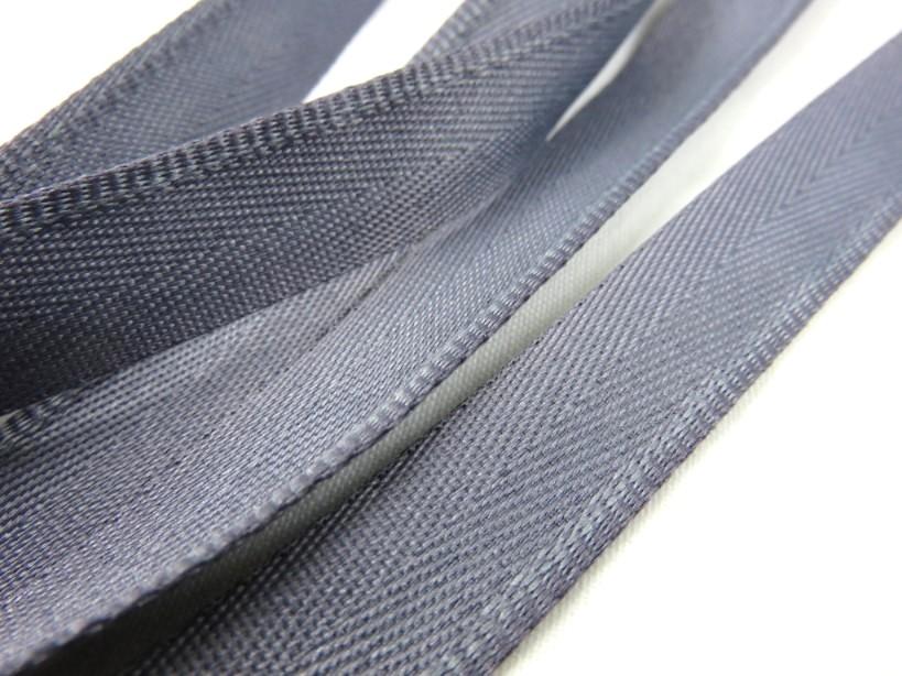 B900 Klackband 15 mm mörkgrå (25 m)