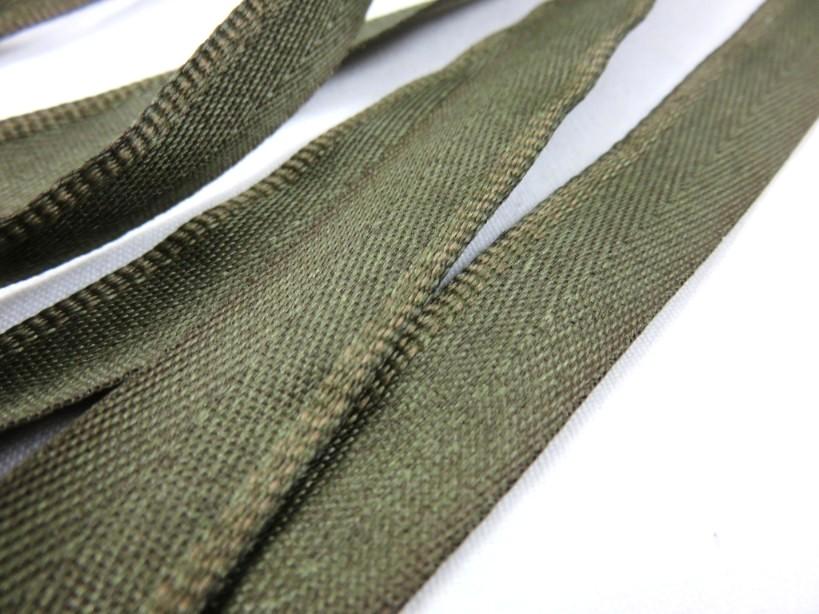 B900 Klackband 15 mm olivgrön (25 m)