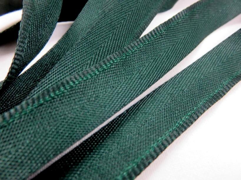 B900 Klackband 15 mm mörkgrön (25 m)