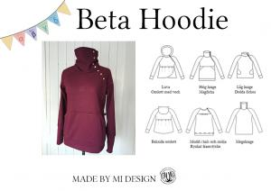 Beta Dam hoodie - Made by Mi