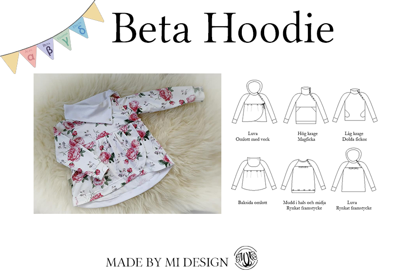 Beta Children's Hoodie - Made by Mi
