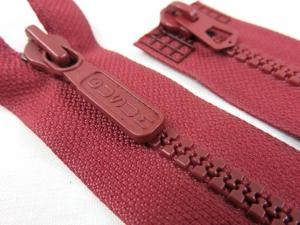D043 Plastic Zipper 76 cm Two-way separating wine red