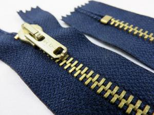 D052 Metal Zipper Salmi 20 cm Closed End dark blue