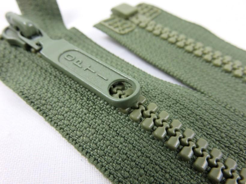 D055 Blixtlås 40 cm Opti delrin delbar 6 mm grön