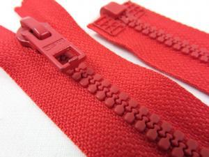 D057 Blixtlås 44 cm Opti delrin delbar 6 mm röd