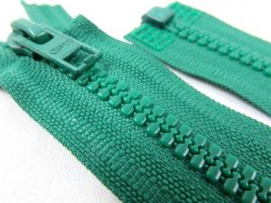 D057 Blixtlås 48 cm Opti delrin delbar 6 mm grön