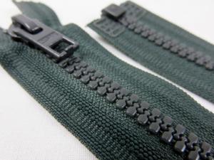 D057 Blixtlås 66 cm Opti delrin delbar 6 mm grön