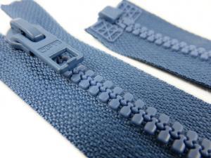 D057 Blixtlås 56 cm Opti delrin delbar 6 mm blå