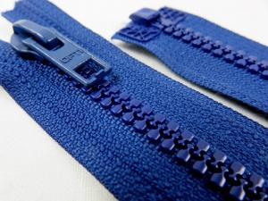 D057 Blixtlås 66 cm Opti delrin delbar 6 mm blå