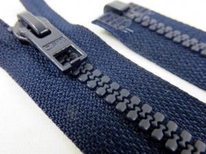 D057 Blixtlås 42 cm Opti delrin delbar 6 mm mörkblå