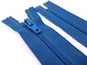 D072 Opti Coil Zipper 15 cm Closed End dark turquoise