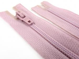 D072 Opti Coil Zipper 12 cm Closed End light pink