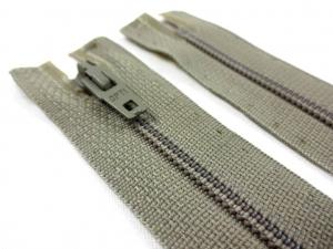 D072 Opti Coil Zipper 12 cm Closed End beige