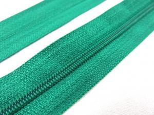 D100 Blixtlås metervara 4 mm sommargrön